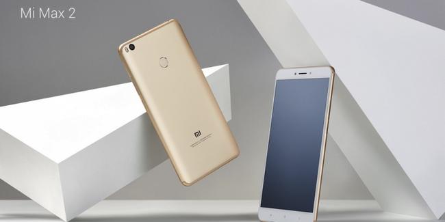 Представлен смартфон Xiaomi Mi Max 2, оснащенный двумя громкоговорителями и аккумулятором емкостью 5300 мА•ч