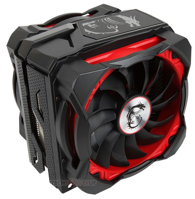 Охладитель MSI Core Frozr XL совместим со всеми современными процессорами AMD и Intel с TDP до 250 Вт