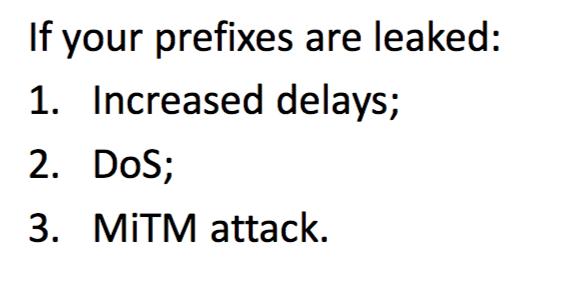 Утечки маршрутов BGP - 2