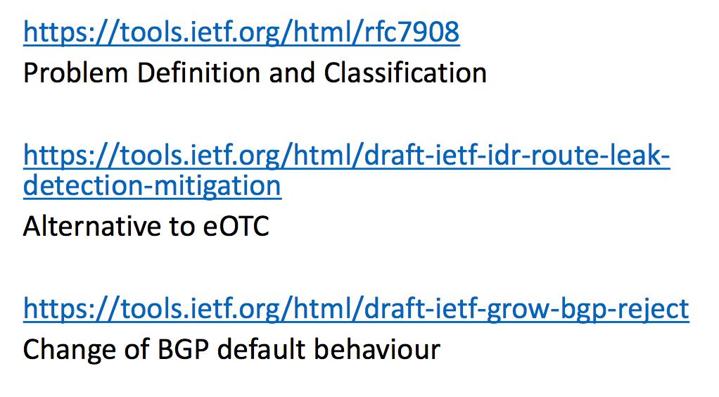 Утечки маршрутов BGP - 22