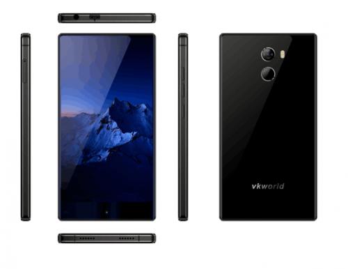 Vkworld Mix+ претендует на звание самого доступного безрамочного смартфона