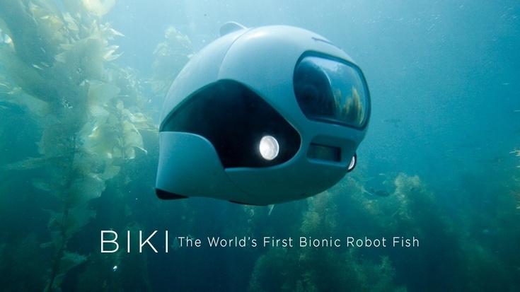 Подводный дрон BIKI позаимствовал принцип перемещения у рыб