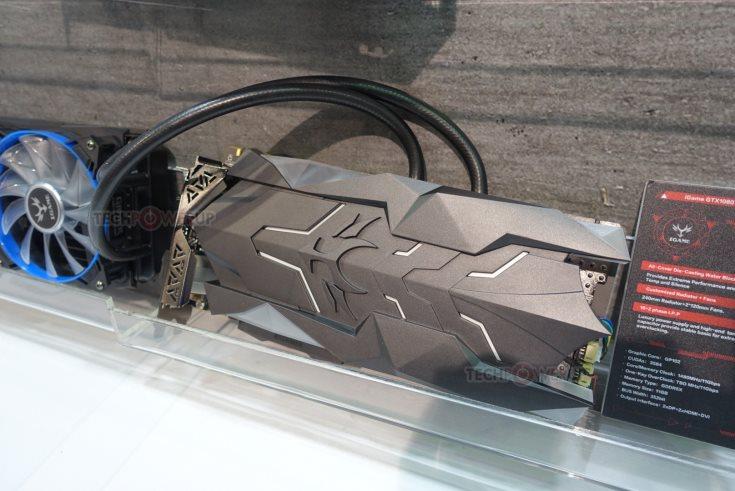 По умолчанию, компоненты 3D-карты Colorful iGame GTX 1080 Ti Neptune W работают на рекомендованных частотах