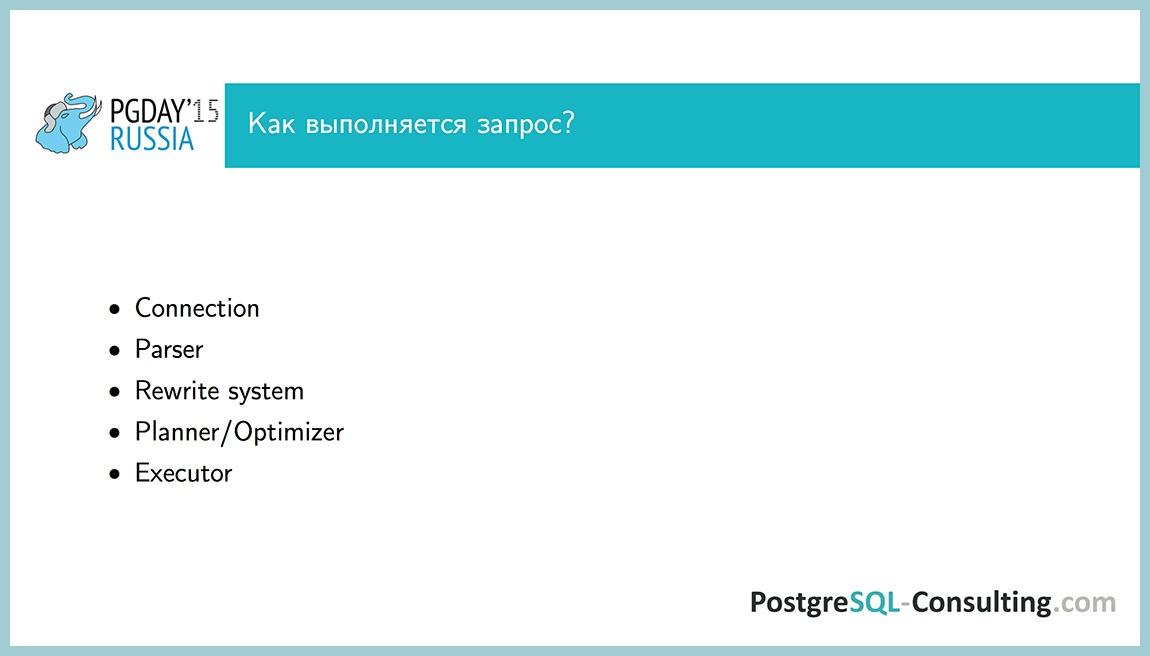 Использование статистики в PostgreSQL для оптимизации производительности — Алексей Ермаков - 3
