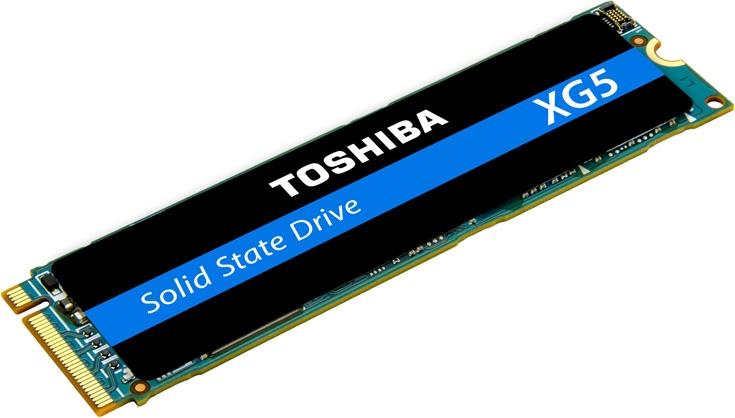 Емкость накопителей Toshiba XG5 достигает 1024 ГБ