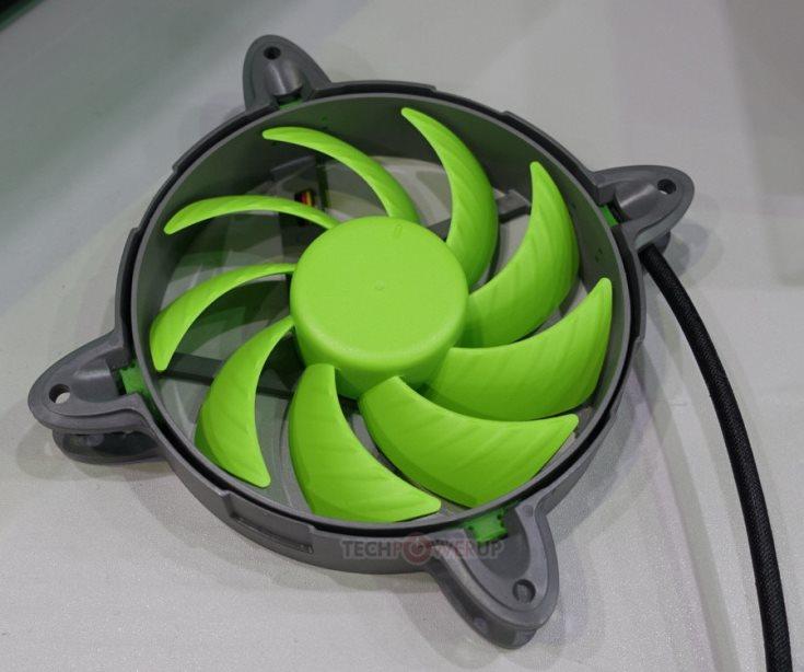В вентиляторе Nanoxia Special NNV 120-L используется бесконтактный электродвигатель и гидродинамические подшипники