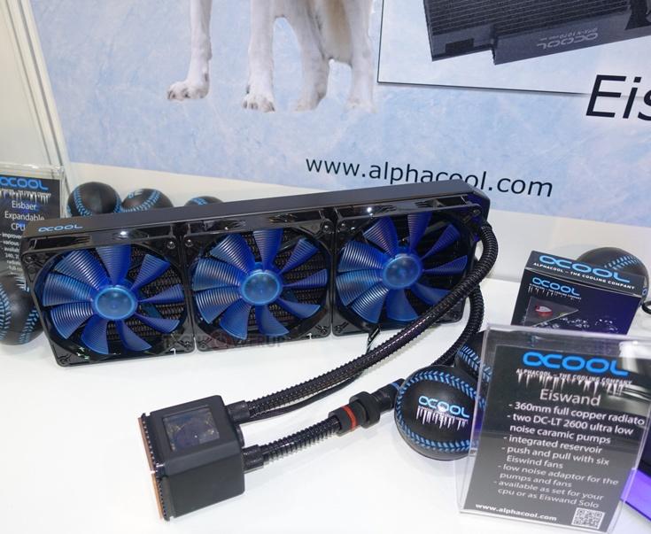 Cроки появления СВО Alphacool Eisbaer 360 в продаже и ее цену источник не сообщает