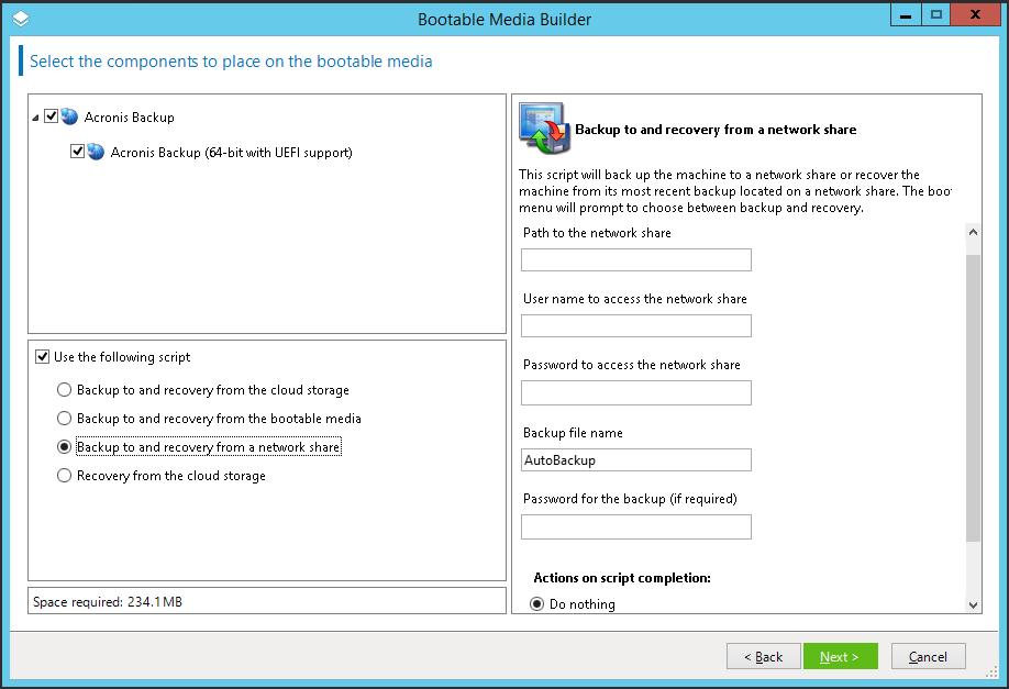 Acronis Backup 12.5 (теперь и) Advanced: долгожданный выпуск - 11