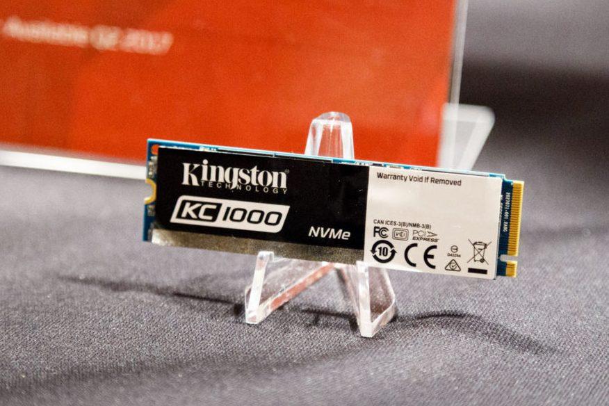 Кому SSD со скоростью чтения 2,7 Гбайт-с? Встречайте флагманский Kingston KC1000 - 1