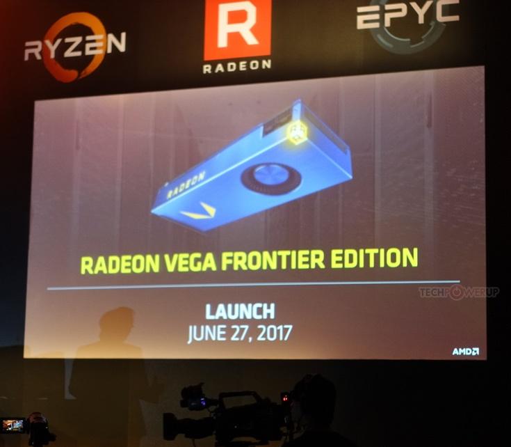 Для анонса AMD Radeon RX Vega выбрано мероприятие SIGGRAPH 2017