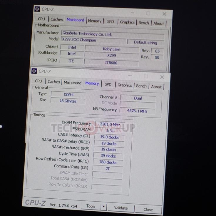 Наборы модулей памяти G.Skill Trident Z DDR4-4200, DDR4-4400 и DDR4-4800 работают на заявленных частотах в составе систем Intel с поддержкой XMP 2.0