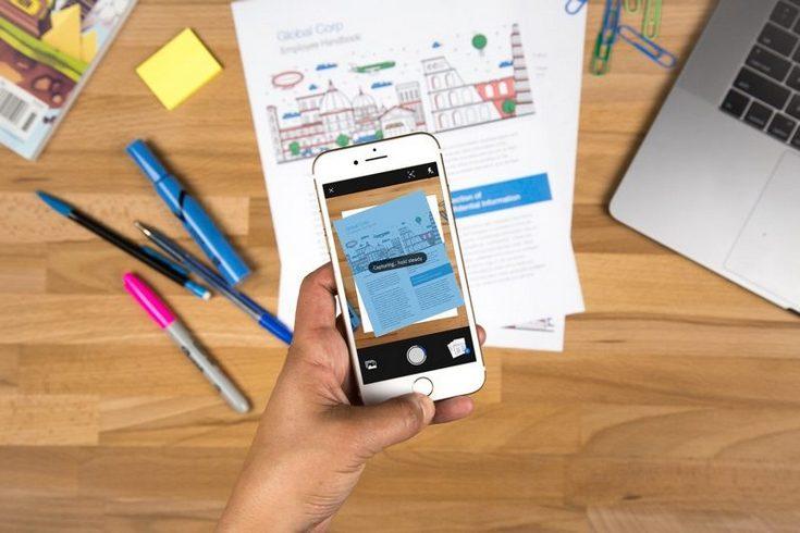 Бесплатное приложение Adobe Scan для iOS и Android позволяет распознавать текст