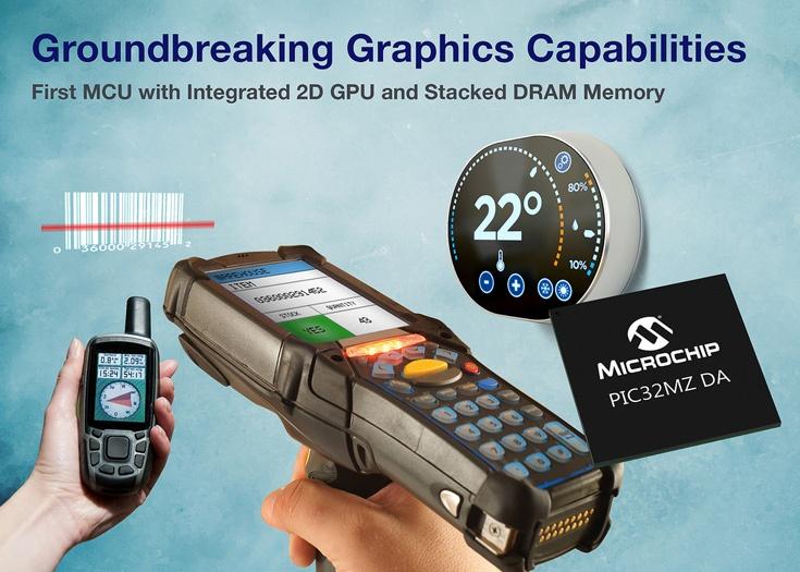 Микроконтроллеры Microchip PIC16F19197 упакованы в корпуса с числом выводов от 28 до 64