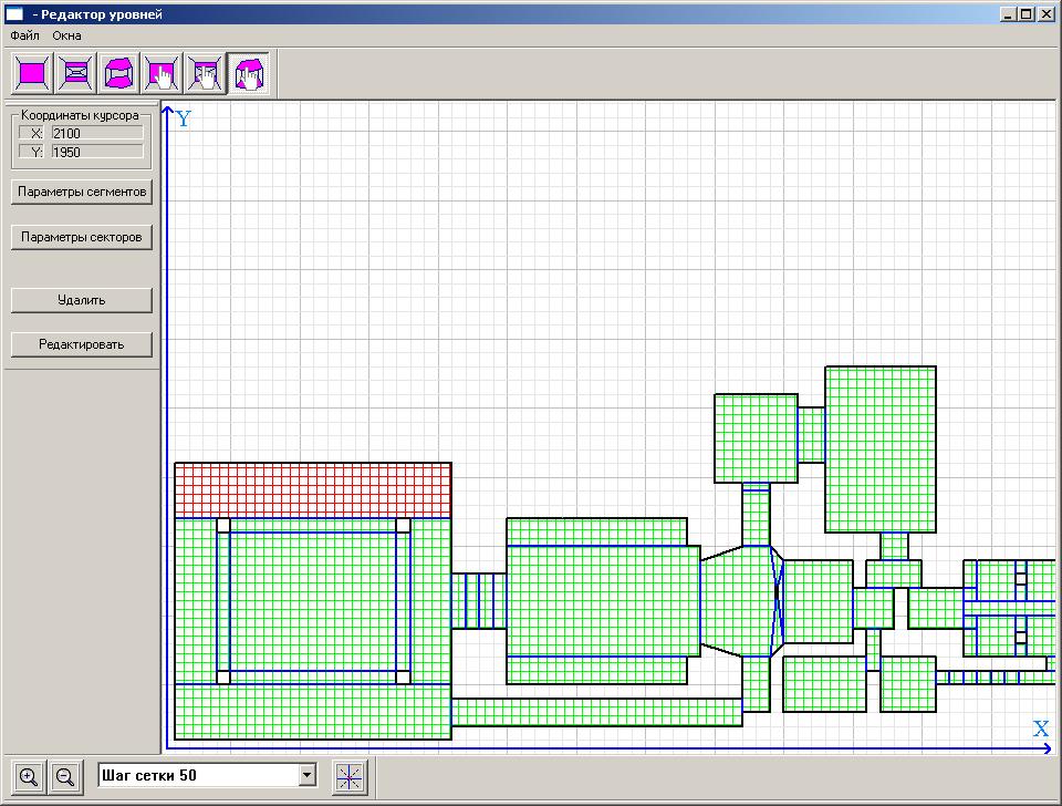 Создание софтверного движка 2.5D - 1