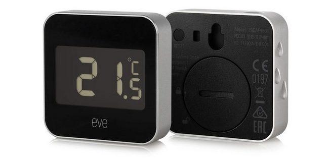 Умное устройство Elgato Eve Degree с поддержкой HomeKit измеряет температуру и влажность воздуха
