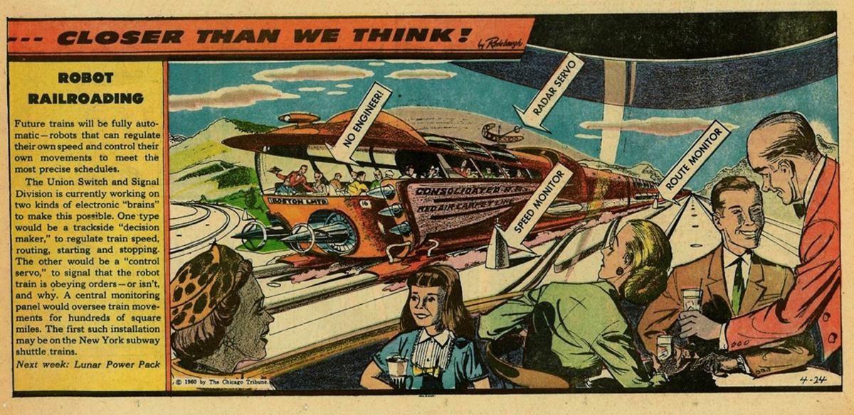 Визуальная фантастика: художники предсказывают технологии будущего - 16