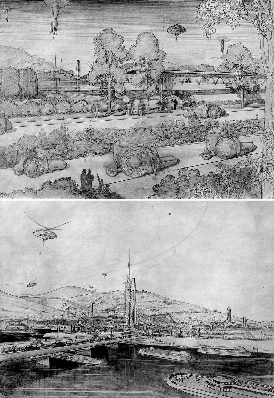Визуальная фантастика: художники предсказывают технологии будущего - 9