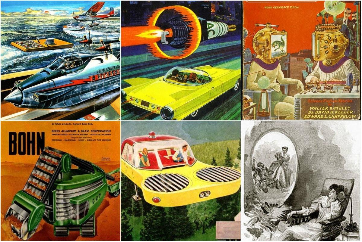 Визуальная фантастика: художники предсказывают технологии будущего - 1