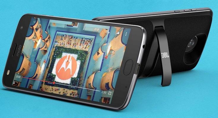 Смартфоны Moto Z получили четыре новых модуля