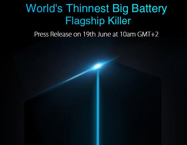 Umidigi обещает представить флагманский смартфон с рекордной емкостью аккумулятора в тонком корпусе