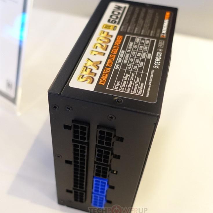 Компания Xigmatek привезла на выставку Computex 2017 блоки питания серий SFX80S и SFX120F