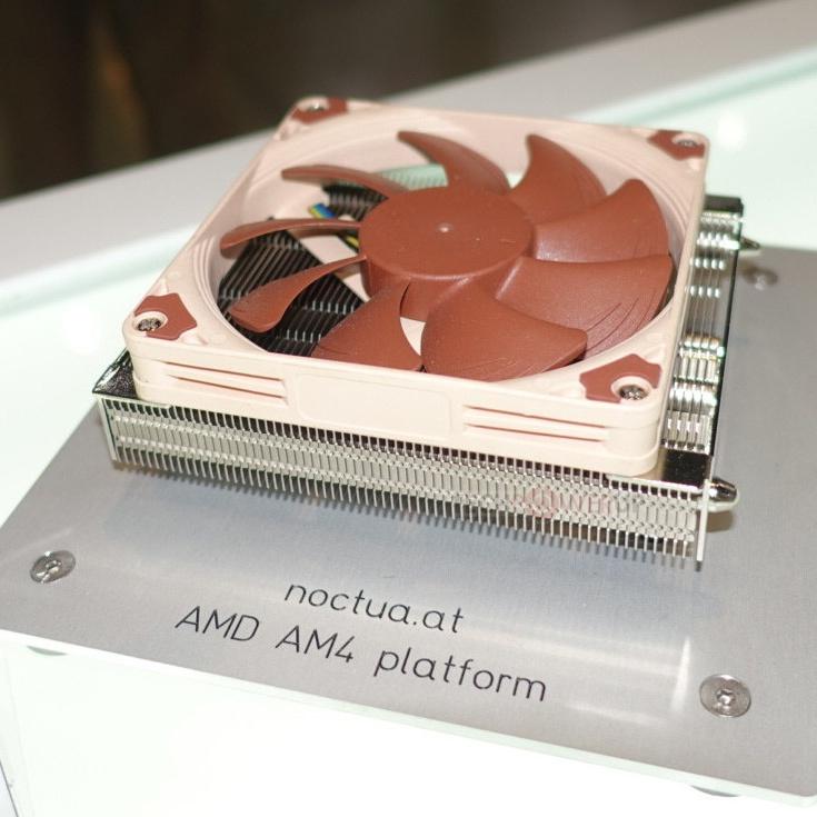 Конструкция процессорной системы охлаждения Noctua NH-L9 включает 92-миллиметровый вентилятор
