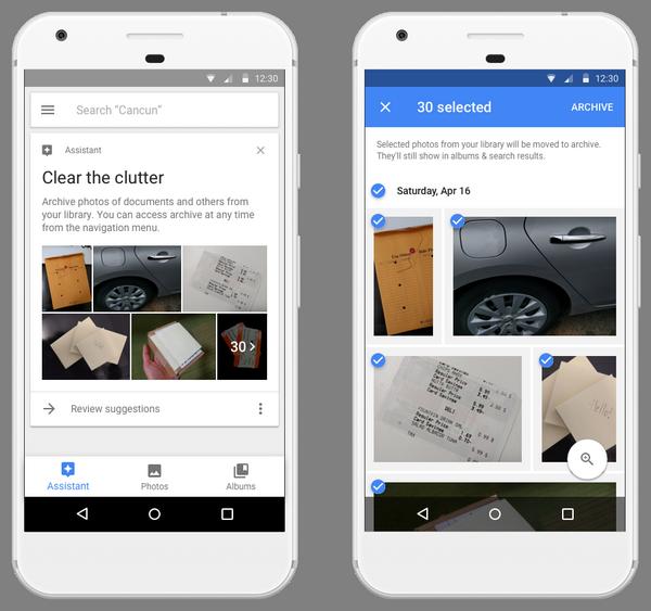 Фотогалерея Google Photos стала более упорядоченной