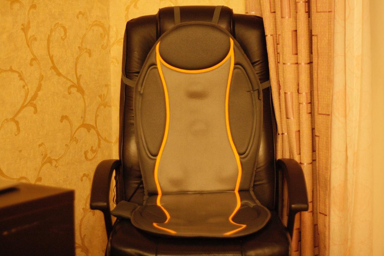 Массажное кресло для бедных: накидки Medisana - 6
