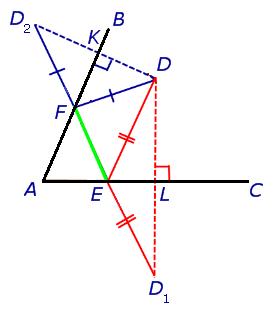 Задачка: найти треугольник с меньшим периметром - 23