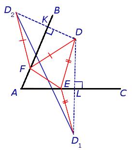 Задачка: найти треугольник с меньшим периметром - 35