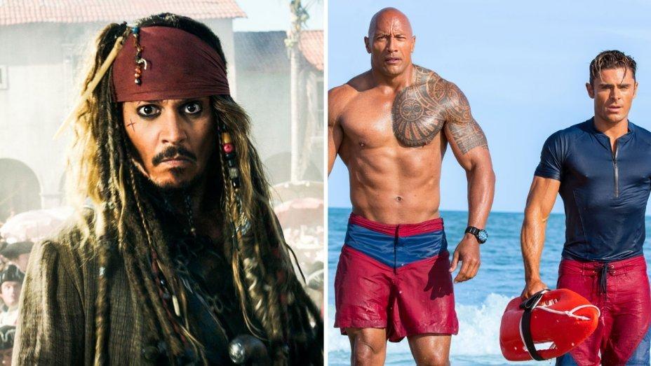 Голливуд обвиняет критиков и Rotten Tomatoes в неудачном старте «Пиратов Карибского моря» и «Спасателей Малибу» - 1