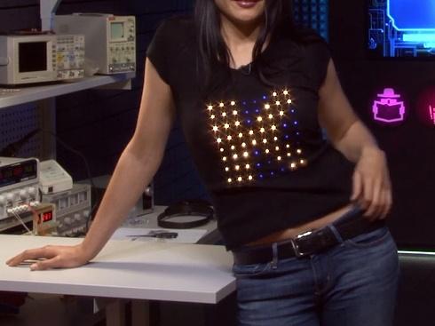 Arduino проект выходного дня – футболка на светодиодах SK6812 - 1