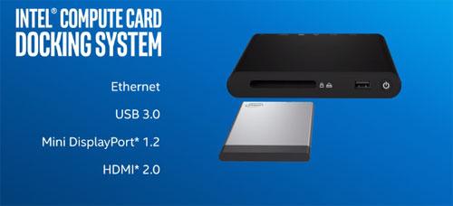 Intel Compute Card — новые подробности - 2