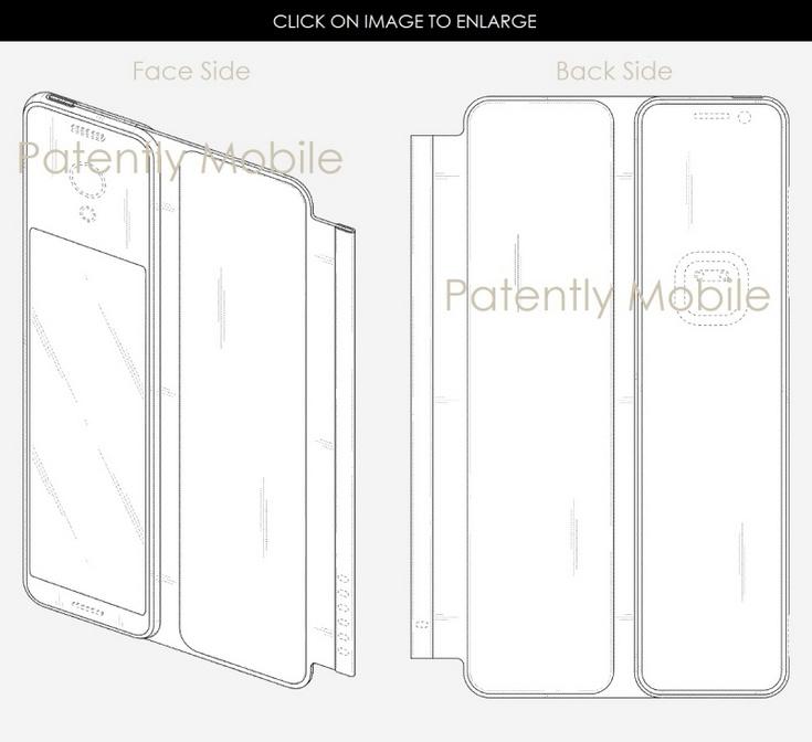 Samsung Display запатентовала несколько новых видов дисплеев, которые могут менять размер