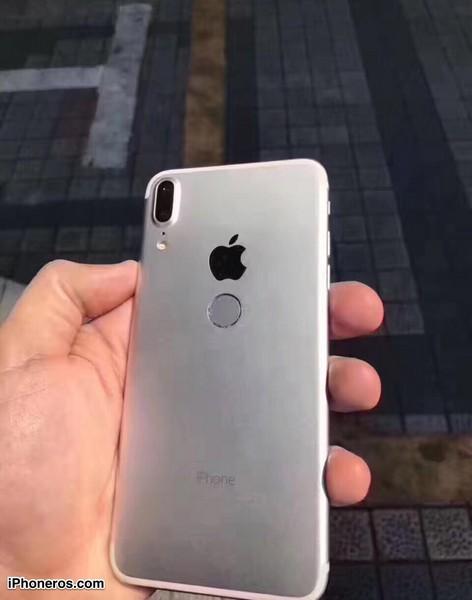 Новые снимки iPhone 8 показывают аппарат с дактилоскопом на тыльной стороне