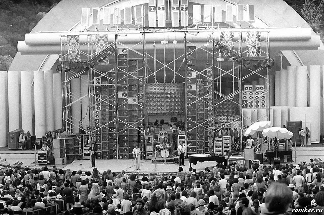 Звуковые гиганты: от «Стены Звука» Grateful Dead до испытаний «Ориона» - 9