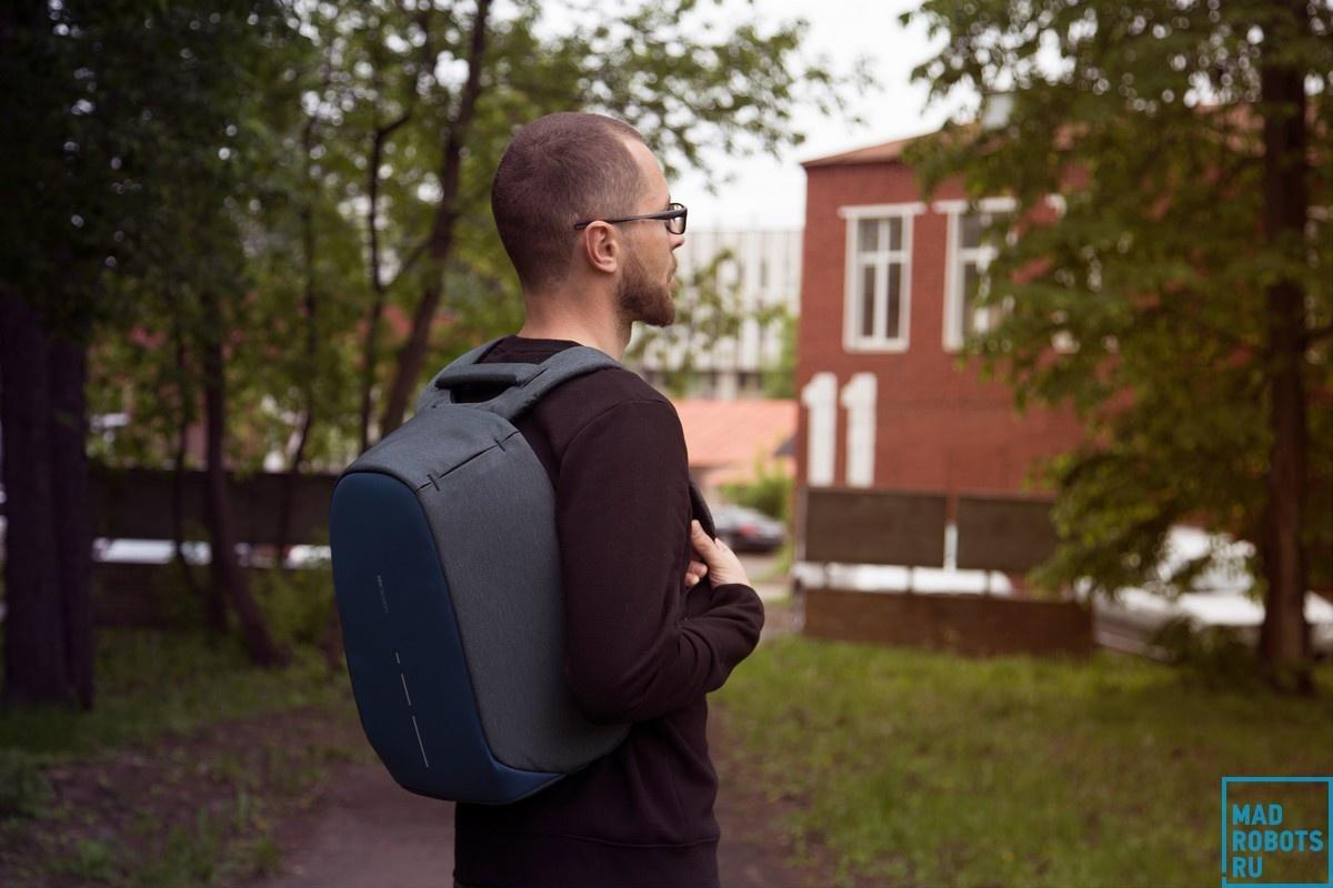 Bobby Compact — новое поколение «противоугонного» рюкзака - 19