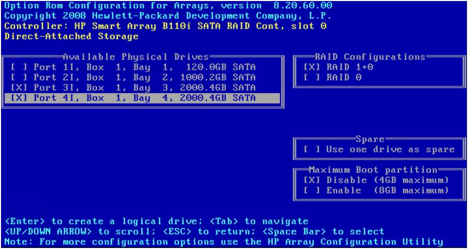HP DL120 G7 — вторая жизнь сервера - 16