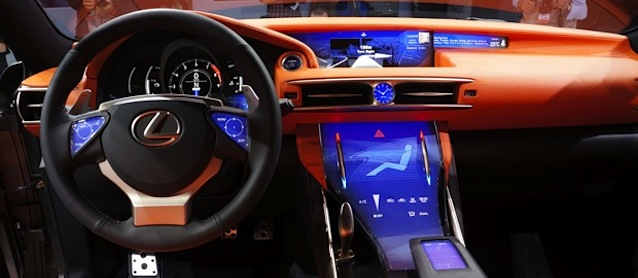 В 2017 году емкостные дисплеи должны опередить резистивные в автомобильной промышленности