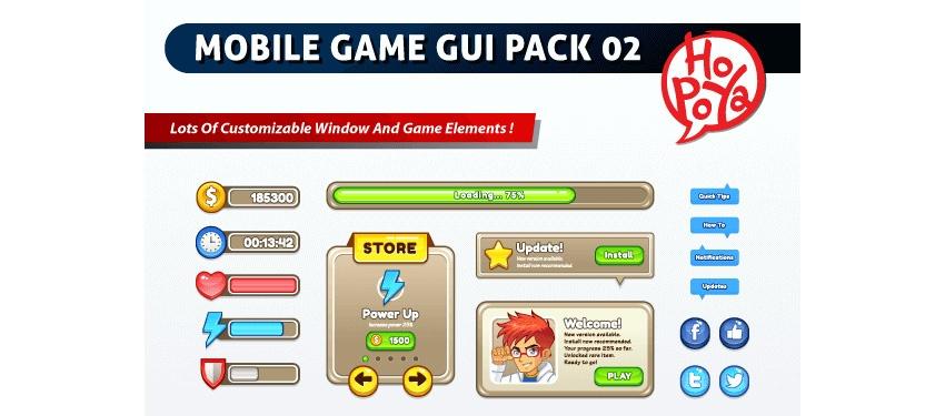Must-Have 3: игровые интерфейсы и ассеты для дизайнера и художника - 7