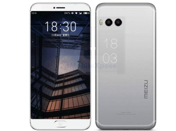 Meizu Pro 7 действительно может получить два дисплея