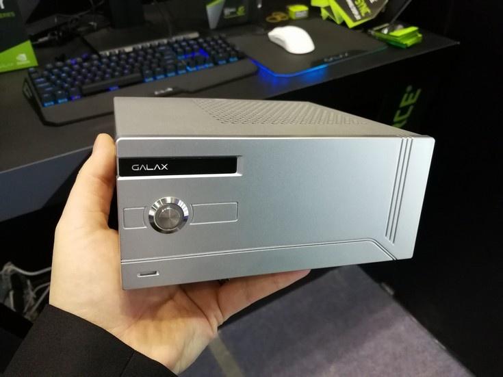 Galax представила внешнюю 3D-карту SNPR External Graphics Card Enclosure