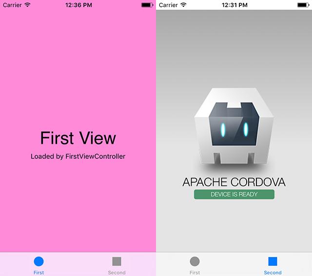 Интеграция Cordova в нативный iOS проект - 2