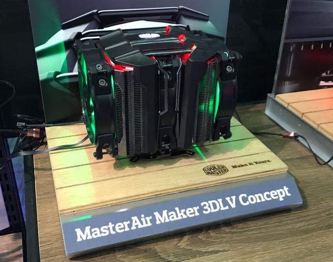 MasterAir Maker 3DLV и Heat Column Concept — концептуальные кулеры Cooler Master