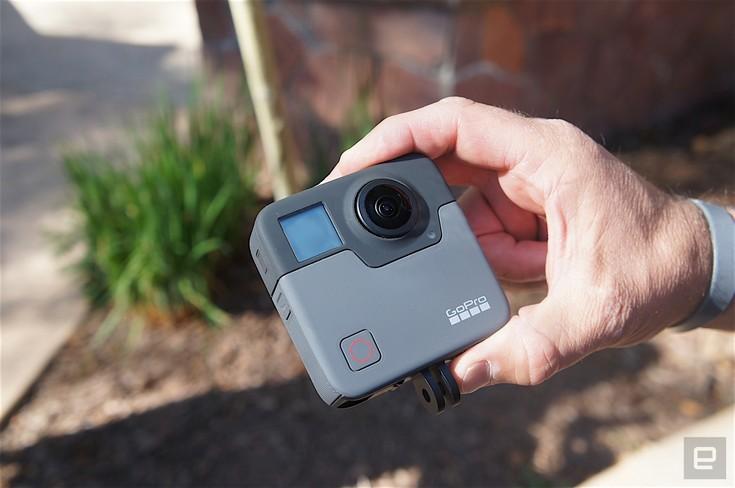 Камера GoPro Fusion предстала перед объективами