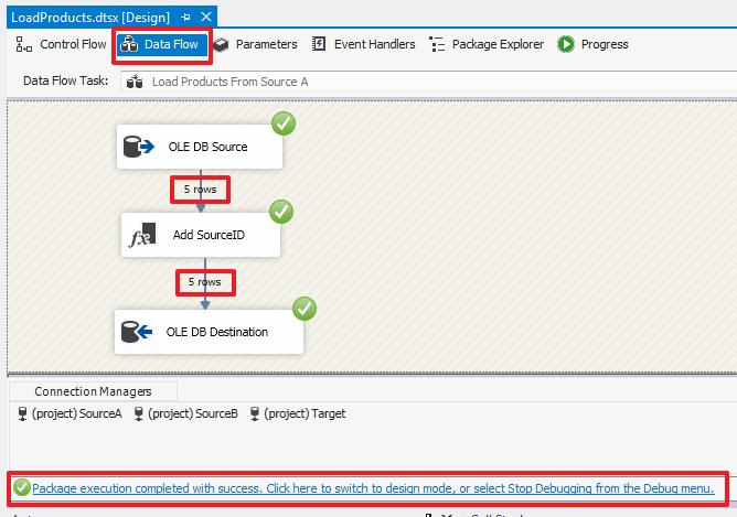SQL Server Integration Services (SSIS) для начинающих – часть 1 - 40
