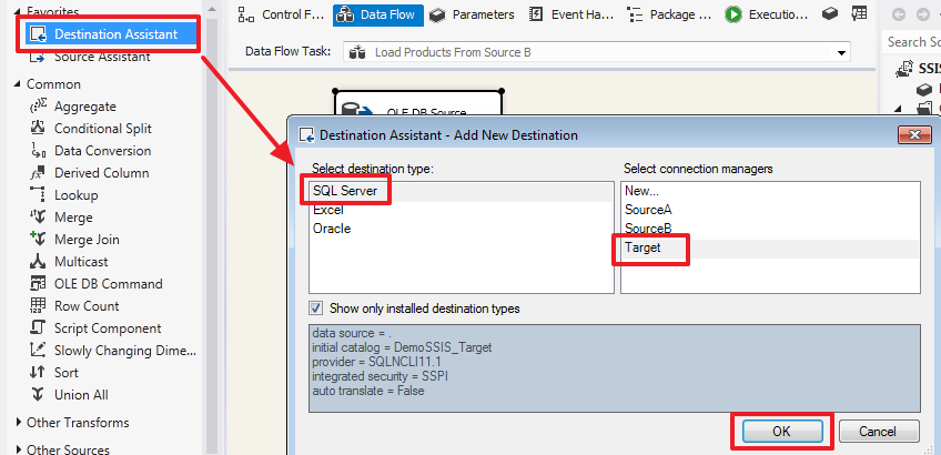 SQL Server Integration Services (SSIS) для начинающих – часть 1 - 45