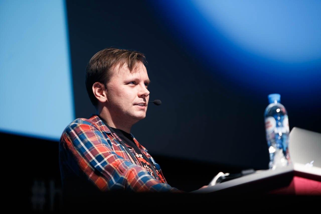 От «нового числового формата» до «кода как UI»: как прошла HolyJS 2017 Piter - 6