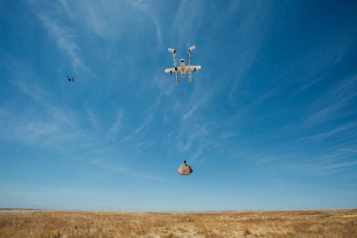 Alphabet создала платформу UAS Air Traffic Management для управления флотом дронов