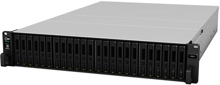 В конфигурацию NAS Synology FlashStation FS2017 входит процессор Intel Xeon D-1541